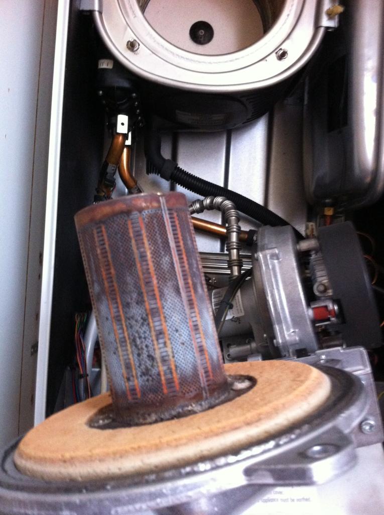 Boiler repair E17