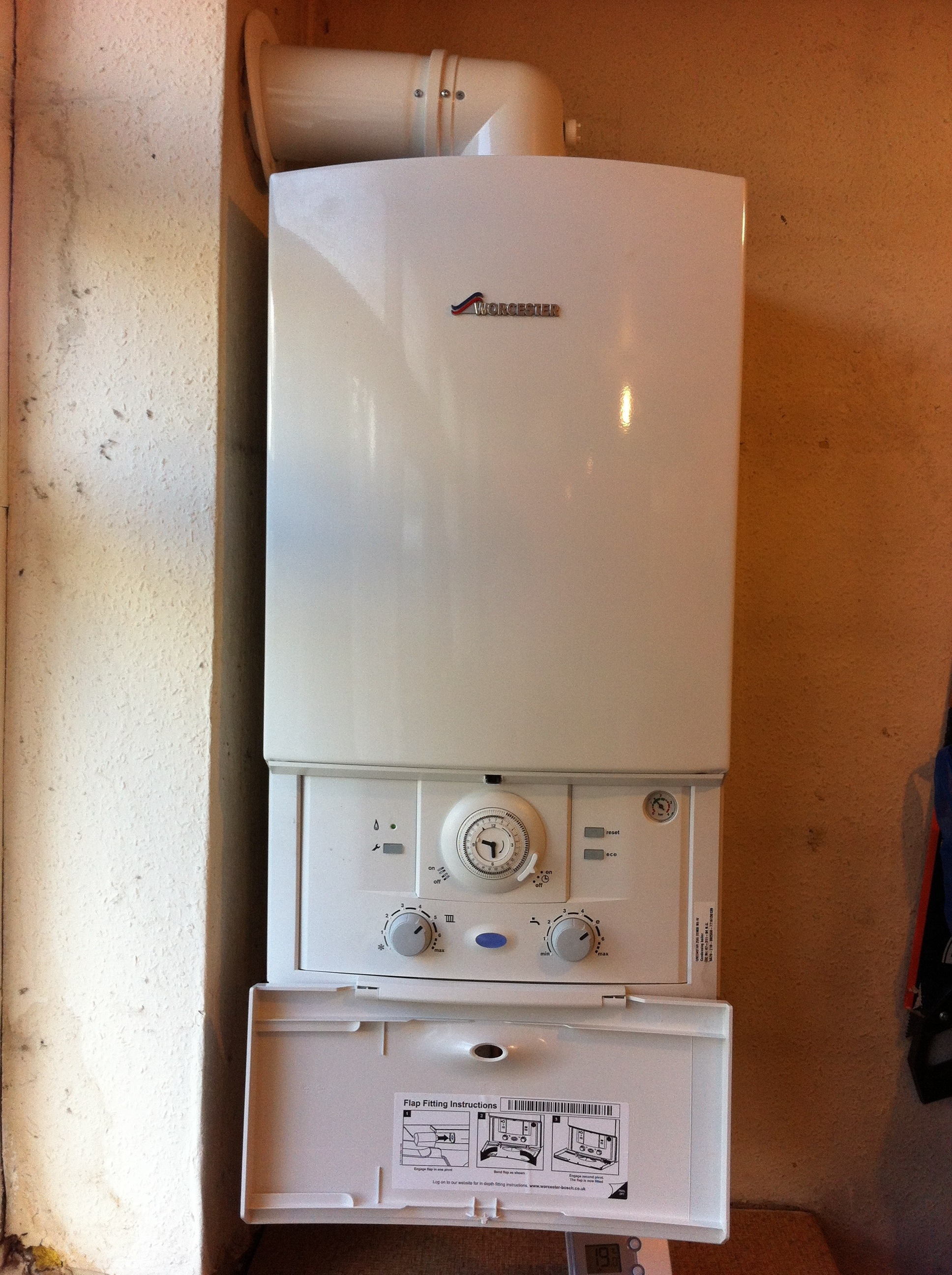 Fitted New Worcester Boiler E17 Rj Gas Appliances Limited